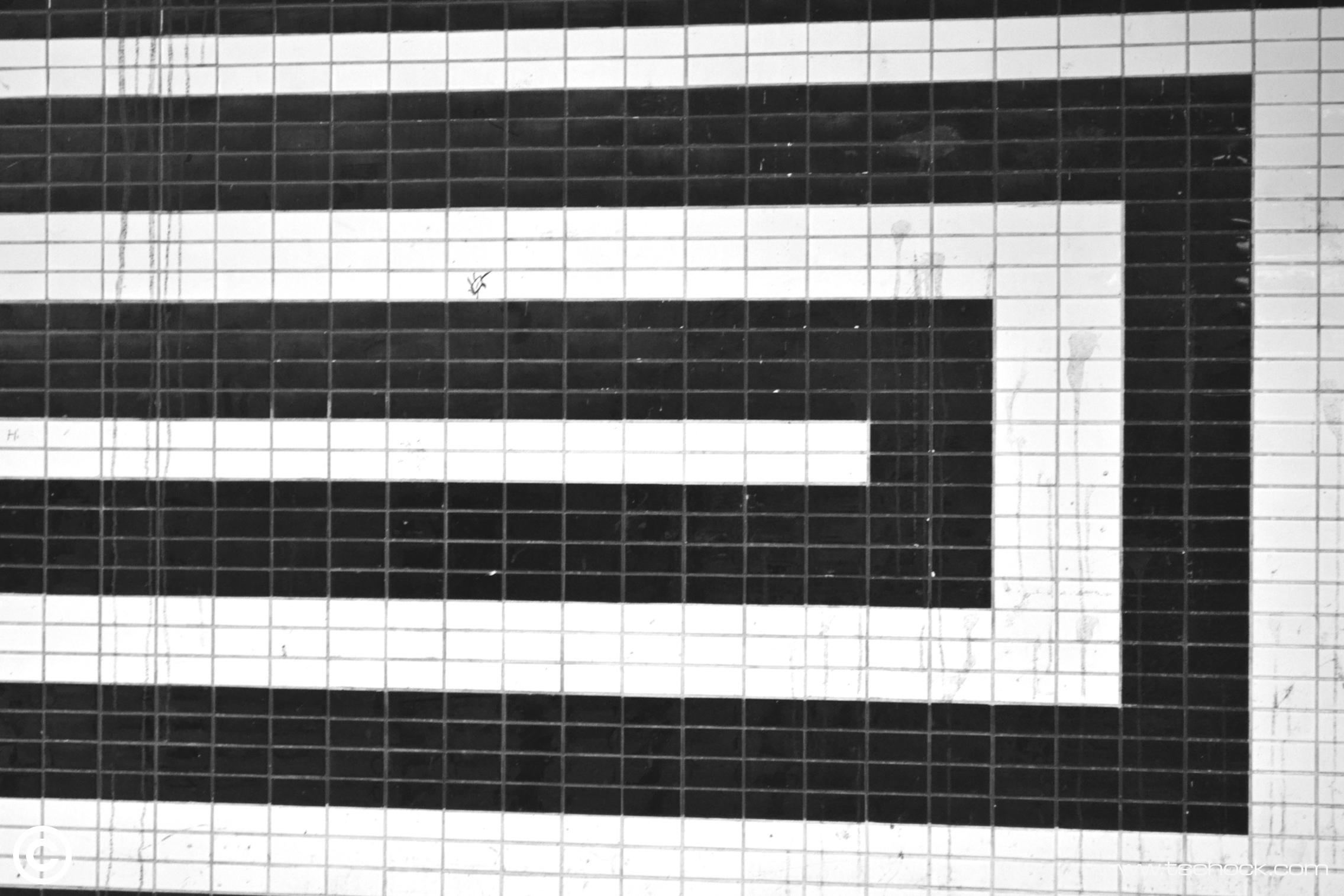 Two tone tiles
