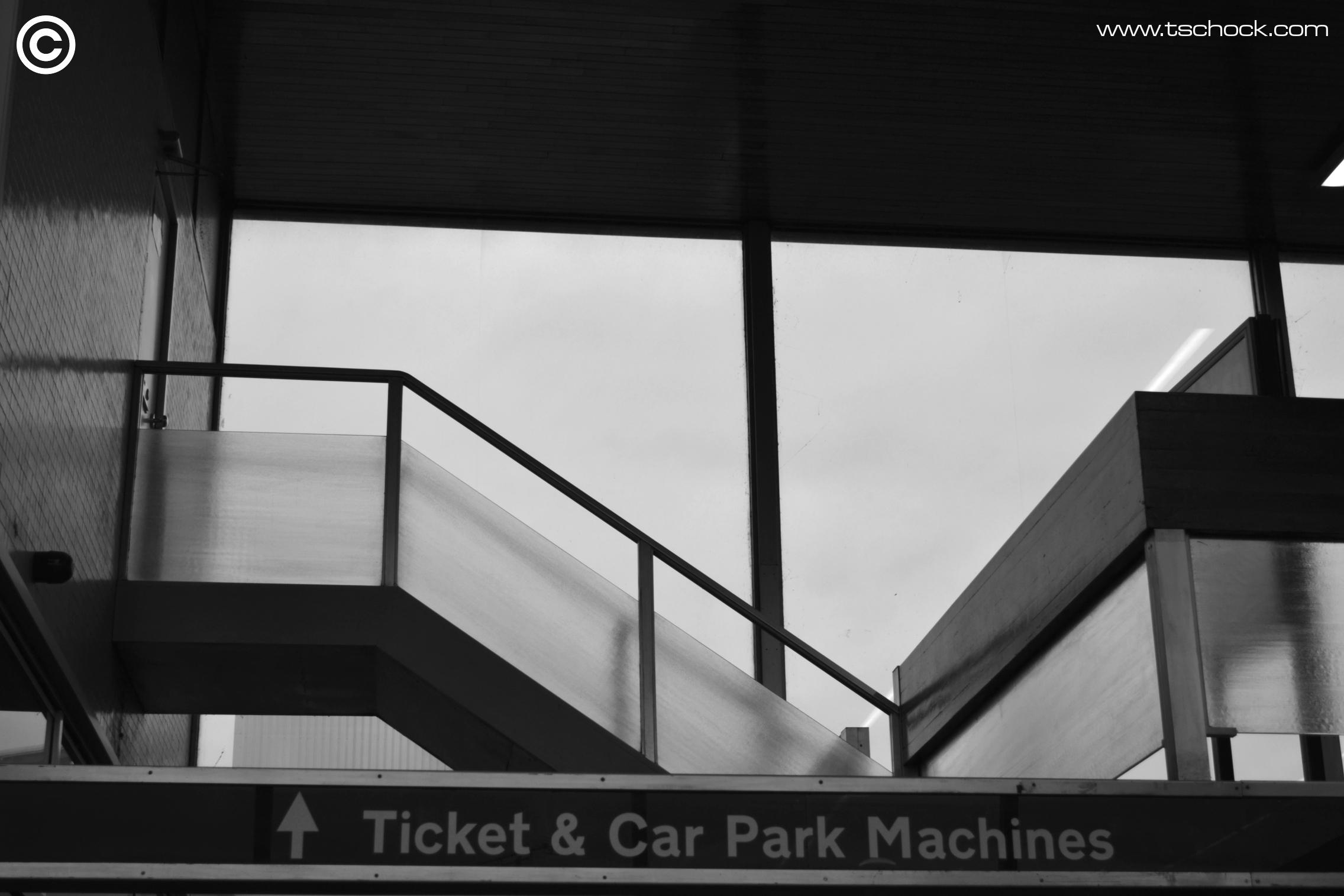 Carpark and machines